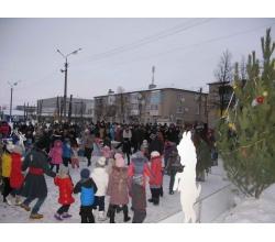 відкриття «Різдвяного містечка»