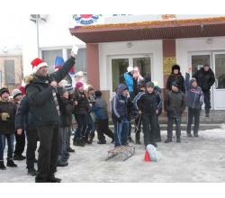 Різдвяна спортивна естафета