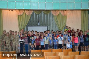 Цікаві зустрічі в «Гончарівському» продовжуються. Новини відділу освіти Сватове