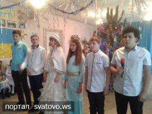 До школи завітало новорічне свято. Новини Райгородської школи