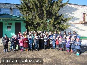 Учні та працівники школи долучилися до акції «Ангели памяті».
