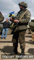 Какие «военные» ходят по домам в Сватово?.
