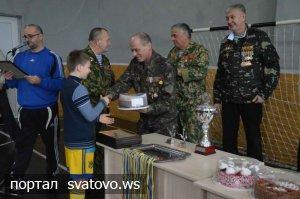 Районний турнір з міні-футболу присвячений 27-й річниці виведення радянських військ з Афганістану. міський клуб культури та дозвілля