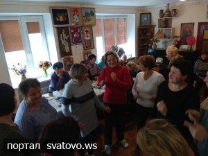 """В етноцентрі """"Слобожанська хата"""" вітали з професійним святом працівників пошти."""
