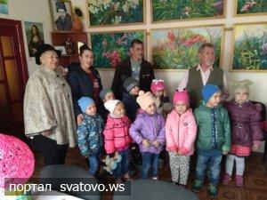 До Слобожанської хати завітали вихованці садочків.