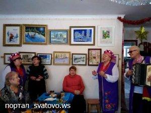 Розпочато проведення Різдвяних зустрічей. Новини Сватівського етноцентру