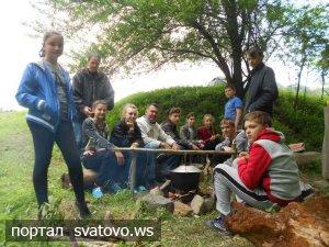 Львівщина радо вітала юних туристів Сватівщини.
