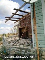 Випробування негодою —  повалені дерева, зірвані покрівлі, зламані паркани.... Новини Голос Громади