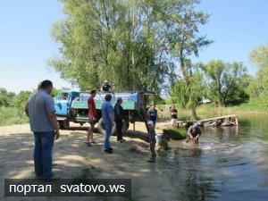 Зариблення річки Красної. Новини Голос Громади