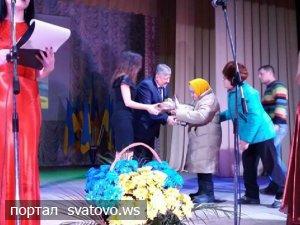 На Сватівщині привітали військовослужбовців та волонтерів. Новини Сватівської Райдержадміністрації