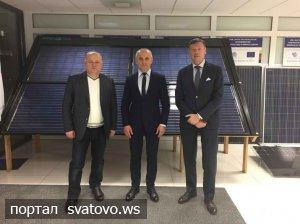 Провідна литовська компанія у сонячній енергетиці зацікавлена започаткувати виробництво сонячних модулів в Україні. Новини Сватівської Райдержадміністрації