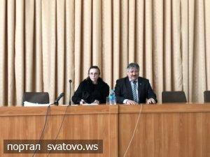 Керівництво райдержадміністрації взяло участь у роботі 18-ї  сесії районної ради. Новини Сватівської Райдержадміністрації
