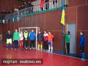Розпочався Чемпіонат Сватівського району з міні – футболу. Новини Сватівської Райдержадміністрації