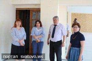 Голова райдержадміністрації відвідав районні заклади культури. Новини Сватівської Райдержадміністрації