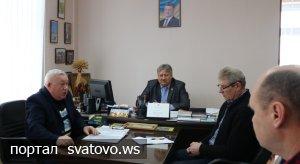 Засідання районної комісії з питань ТЕБ та НС. Новини Сватівської Райдержадміністрації