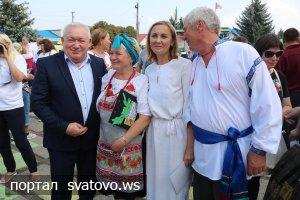 На «Слобожанському спасі» розпочалося свято української страви. Новини Сватівської Райдержадміністрації