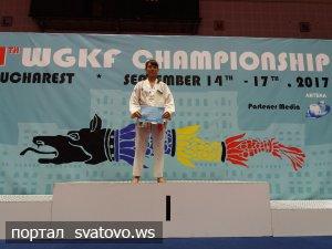 Дві нагороди світової першості завоювала наша спортсменка на змаганнях у Румунії. Новини Юність Слобожанщини