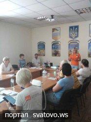 Тренінг з питань розвитку сільськогосподарських кооперативів. Сватівська Міська Рада