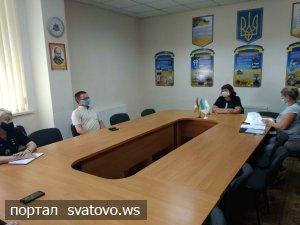 Відбулося чергове засідання адмінкомісії при виконавчому комітеті міської ради.. Сватівська Міська Рада