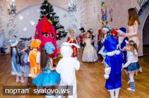 Новорічні свята у КЗДО №1 «Малятко». Сватівська Міська Рада