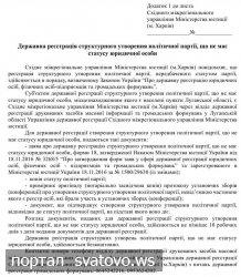 Східне міжрегіональне управління Міністерства юстиції (м. Харків) інформує громадян та юридичних осіб. Сватівська Міська Рада